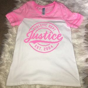 Justice girls tee